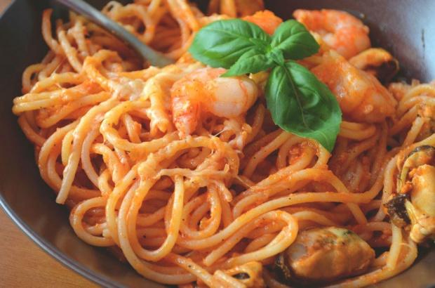 Spaghetti frutti di mare!