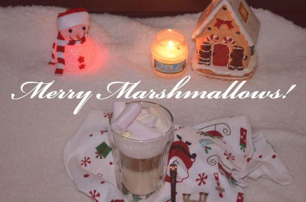 Merry Marshmallows, czyli śnieżna kawa z piankami:)