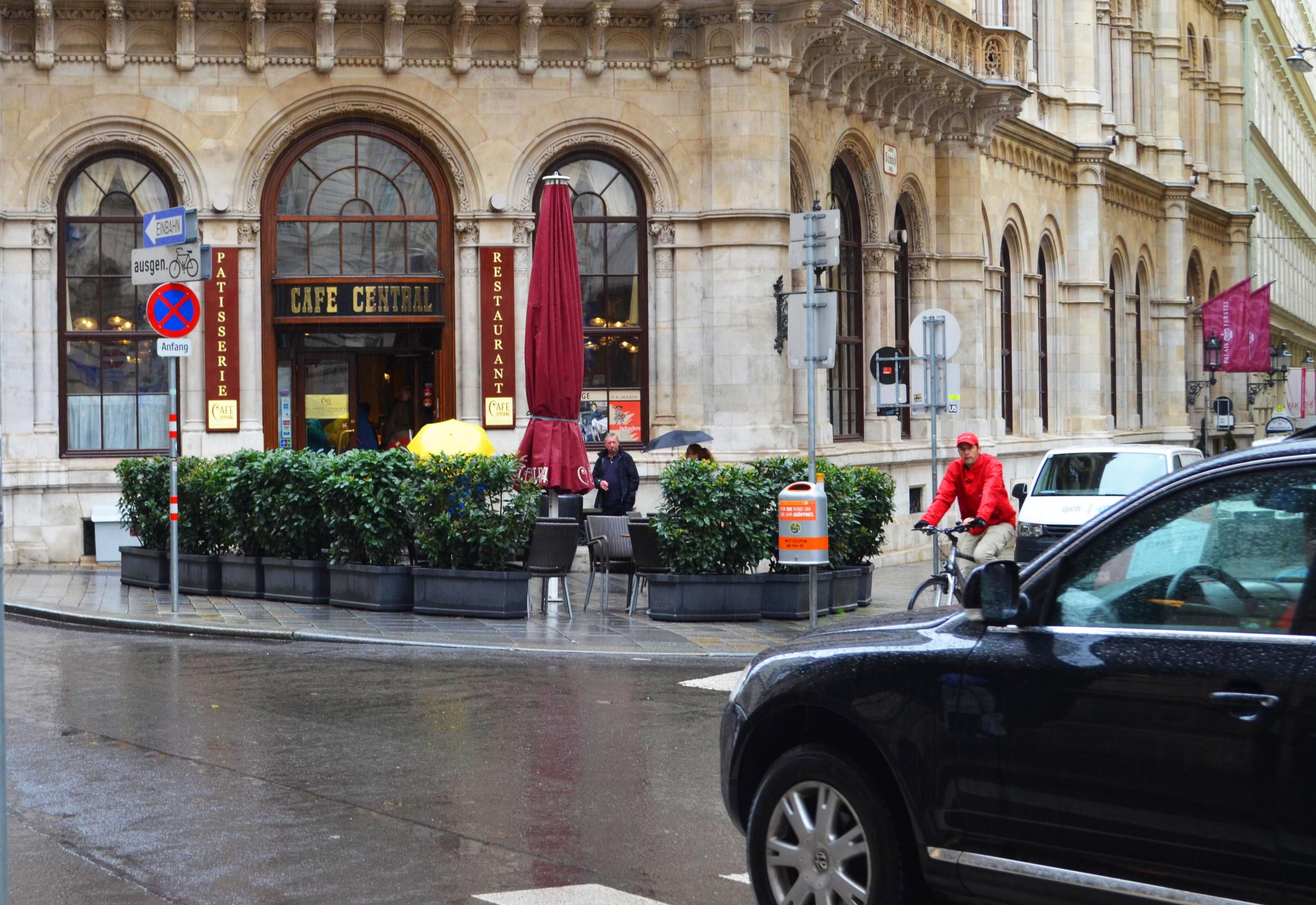 Café Central, Herrengasse 14, Vienna!