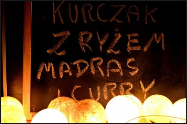 Kurczak z ryżem madras i curry!