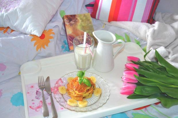 Bananowe pancakes na śniadanie!