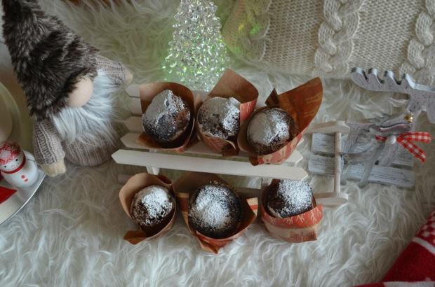 Świąteczne muffiny piernikowe!