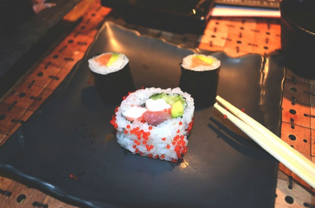 Sushi is always a good idea!