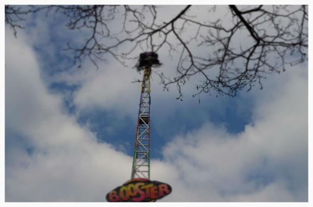 Leniwa niedziela i Lunapark!