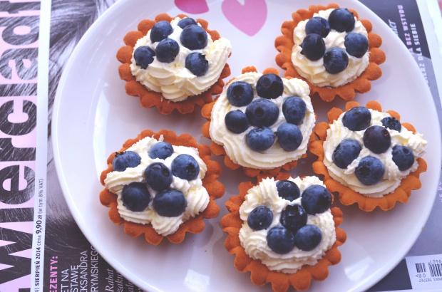 Tartaletki z mascarpone i borówkami!