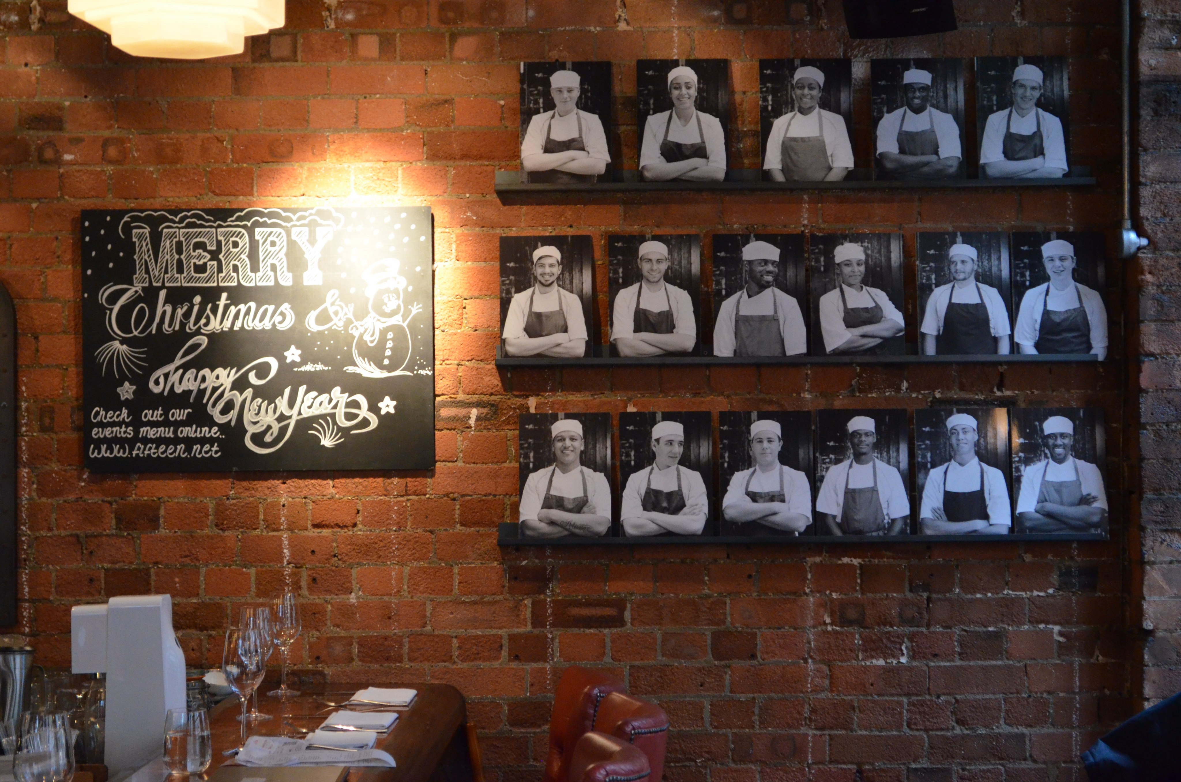 Fifteen ? Jamie Oliver?s Restaurant!